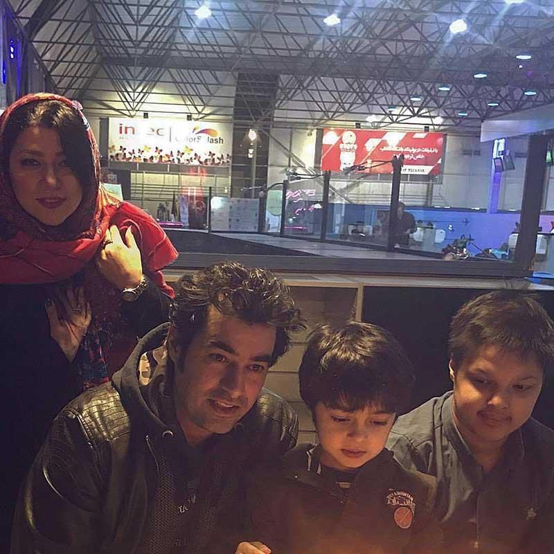 خوشگذرانی شهاب حسینی