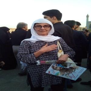 واکنش جالب یک گردشگر به تشییع شهید حججی