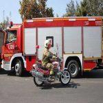 آتش، یک مدرسه را تعطیل کرد