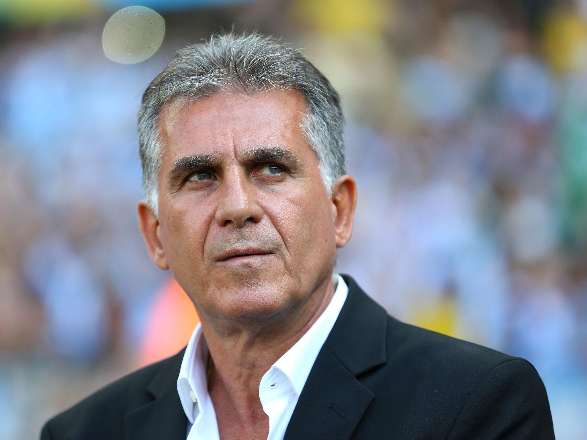 خداحافظی کی روش از تیم ملی فوتبال ایران