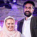 بهاره رهنما و همسر جدیدش در باشگاه بدنسازی