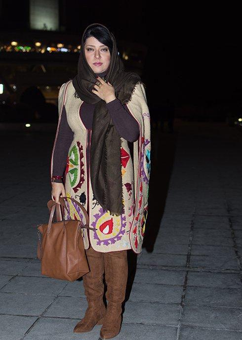 همسر شهاب حسینی روی صحنه تئاتر
