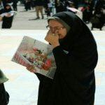 گریههای مادر «بنیتا» در مصلی امام خمینی(ره)