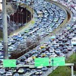 پیش بینی ترافیک سنگین امشب برای تهران