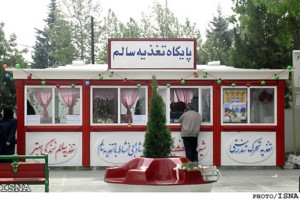 بوفه بدون فروشنده در یکی از مؤسسات آموزشیِ تبریز!