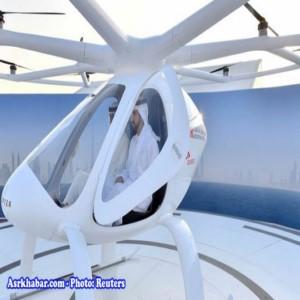 دوبی اولین تاکسی پرنده را آزمایش کرد