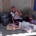 مرد ونزوئلایی مجبور به خوردن یک گربه شد