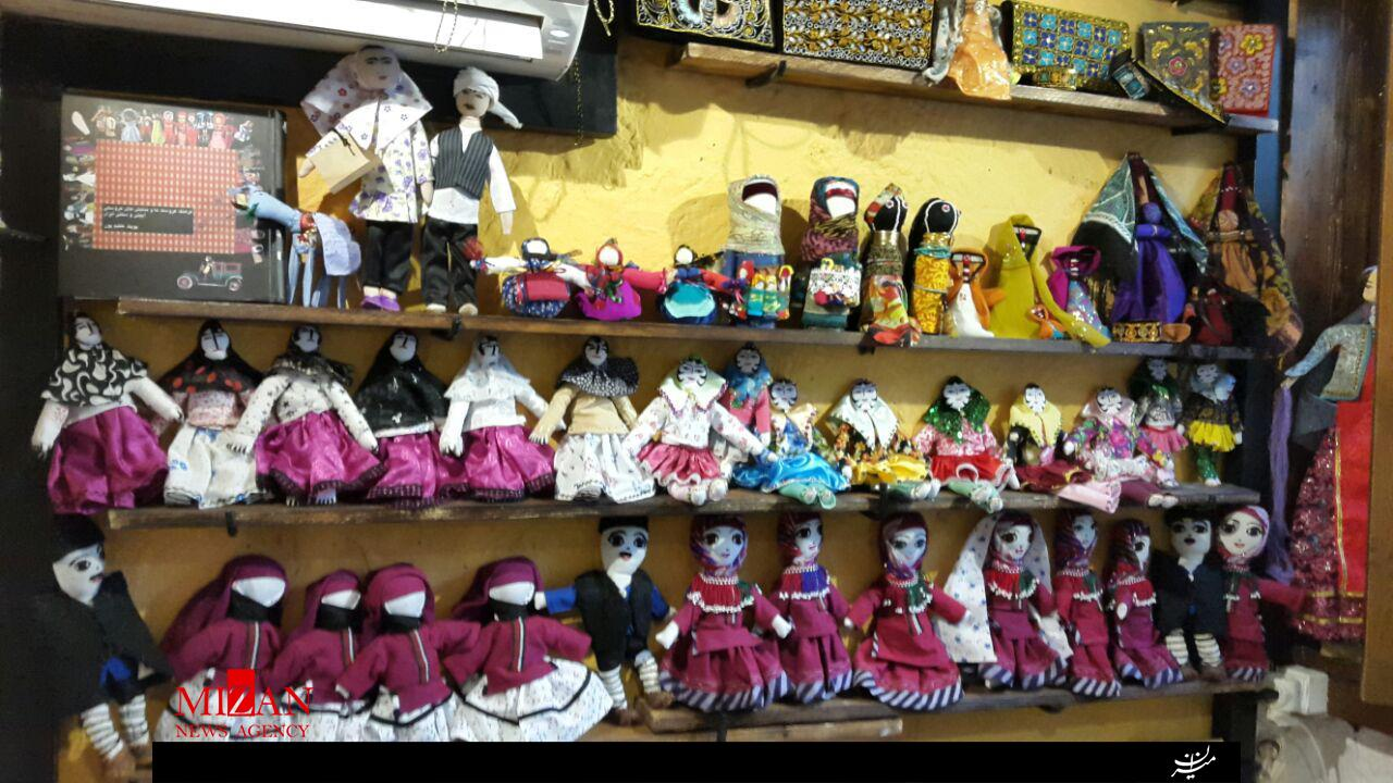 عروسک های بومی ایران در دسترس مردم / گنجینه عروسکهای ایرانی + تصاویر