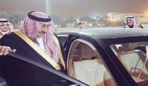 ولیعهد برکنار شده سعودی پس از چند ماه در انظار عمومی دیده شد