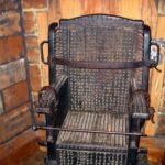 صندلی شکنجه در قرون وسطی