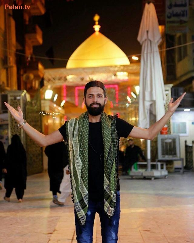 محسن افشانی در نجف اشرف