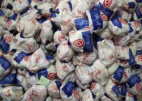 جمع آوری روزانه ۸۰۰ تن مرغ مازاد از بازار
