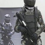 سرباز روباتیک در صف ارتش روسیه