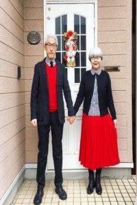این زوج ۳۷ سال است که ست میپوشند