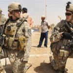 تمرین سربازان آمریکایی در مرز کرهشمالی برای جنگ شیمیایی