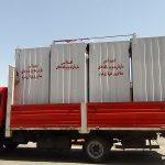 نصب سِتهای حمام و سرویس بهداشتی در روستاهای زلزلهزده