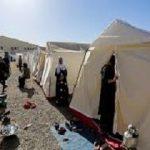 جشن تولد در چادر زلزله زدگان