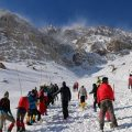 تشییع جانباختگان حادثه تلخ کوهنوردی اشترانکوه در ازنا
