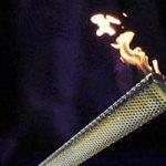 مشعل المپیک در دستان بهرام رادان