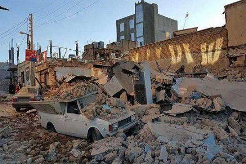 واکنش پلیس به بیرون آمدن اژدها بعد از زلزله کرمانشاه!