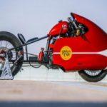 طراحی موتورسیکلت مخصوص حمل پیتزا برای شهر دوبی