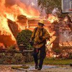 تصاویر فاجعه آتشسوزی کالیفرنیا از فضا
