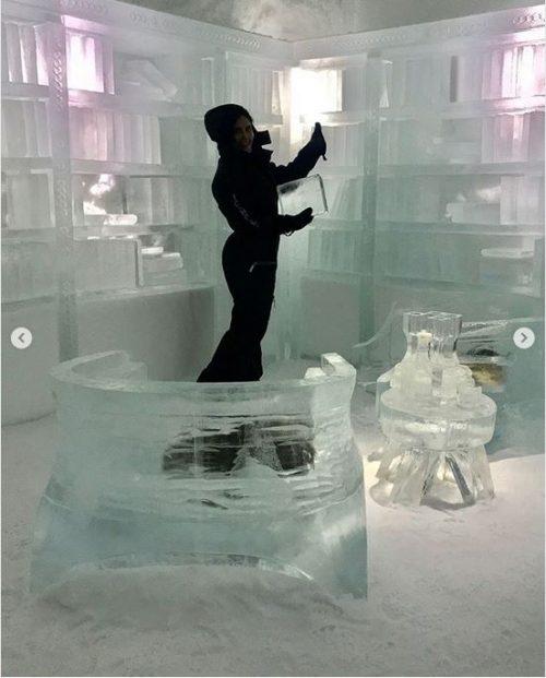 الناز شاکر دوست در اتاق یخی