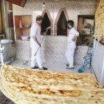 ۹۰ نانوایی در این شهر نان رایگان میدهند
