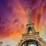 پیادهروی در آسمان پاریس به شکلی زیبا و جذاب