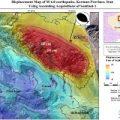 جابهجایی پوسته زمین پس از زلزله کرمان
