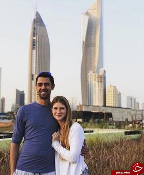 دختر بیل گیتس به همراه نامزدش