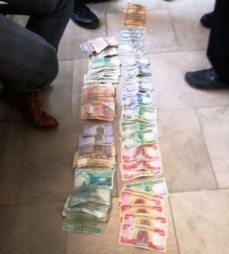 دستگیری گدای میلیونر