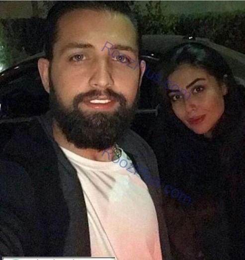 رونمایی محسن افشانی از همسرش