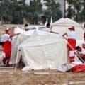 ازبین رفتن ۳۵ چادر زلزله زدهها در طوفان دیروز