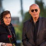 جمشید هاشم پور در کنار همسر و دخترش الناز!