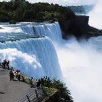 چند سکانس تصویری از آبشار نیاگارا بعد از یخ زدن