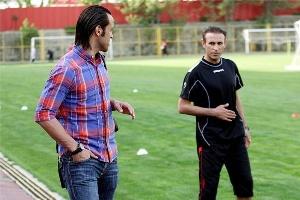 دیدار علی کریمی و یحیی گلمحمدی در هتل