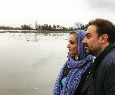 arjmandborzou 25 - نوشته عاشقانه برزو ارجمند برای همسرش پارمیس زند!
