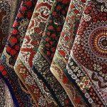 نقاشیهای مرد آمریکایی به سبک فرش ایرانی
