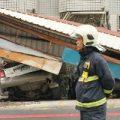 اولین تصاویر از خسارات زلزله شدید در تایوان