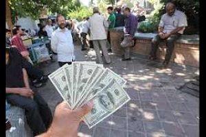 دستگیری دلالان ارز در خیابان فردوسی