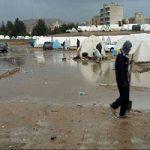 باران، شرایط زلزله زدگان را بحرانی کرد