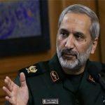 عیادت فرمانده سپاه تهران از مجروح حادثه پاسداران