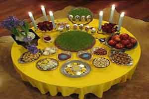 لحظه تحویل سال ۱۳۹۷ و زمان کاشت چند نوع سبزه برای عید +عکس
