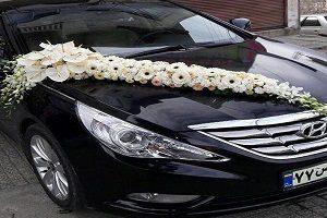 تصویری غم انگیز از ماشین عروسی در ماهشهر