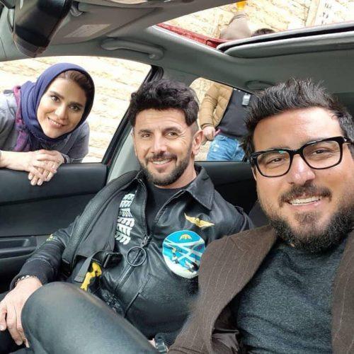 محسن کیایی و امین حیایی