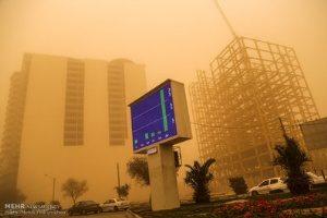 """مردم اهواز """"خاک"""" تنفس میکنند+ تصاویر"""