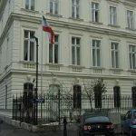 اقامتگاه سفیر ایران در وین که مورد تهاجم واقع شد