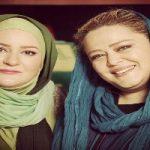 """ژست عجیب """"بهاره رهنما"""" و """"نعیمه نظام دوست"""" در قبرستان!"""