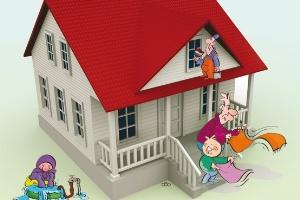 نکاتی درمورد بهترین خانه تکانی با کمترین آسیب ها